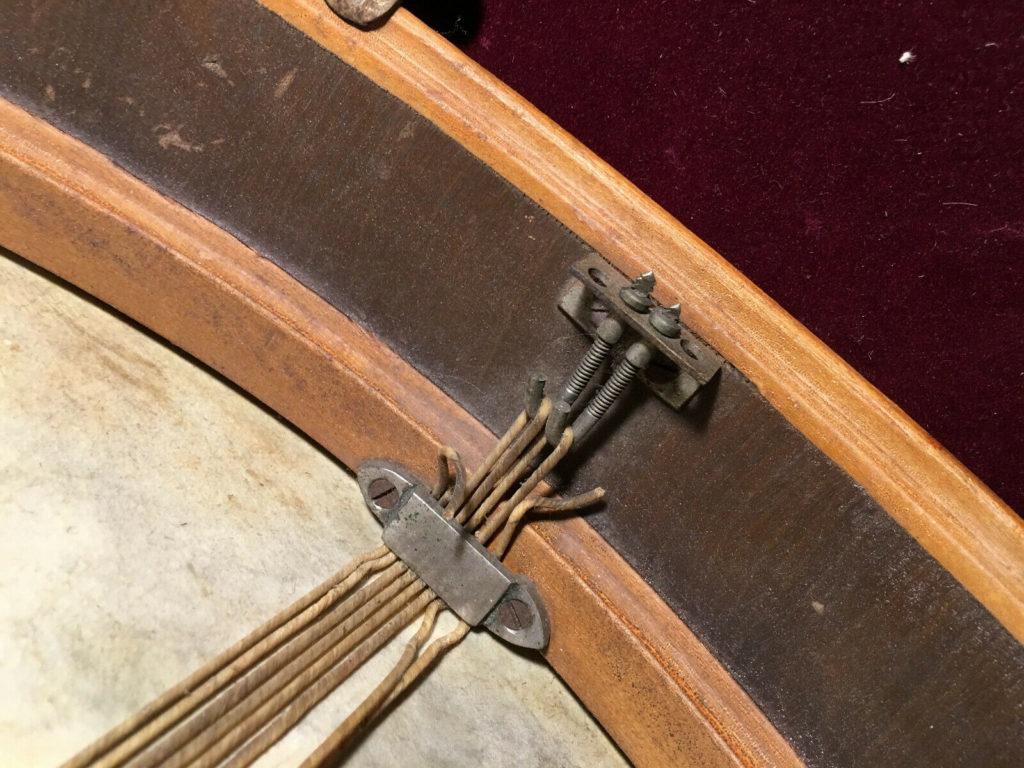 Excelsior 1900s snare internal strainer