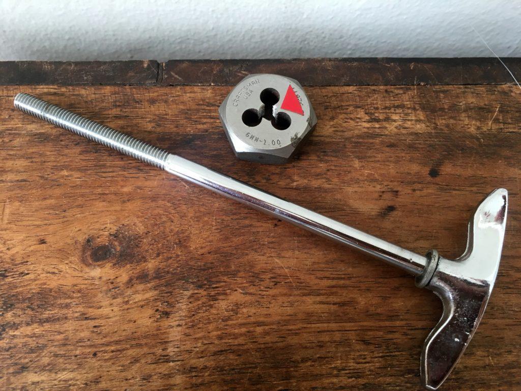 6mm M6 drum tension rod thread