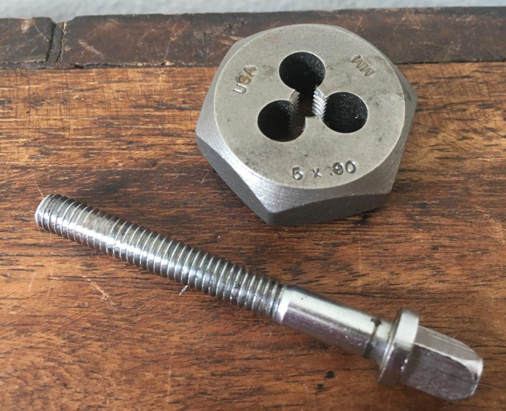 5mm Star drum tension rod thread