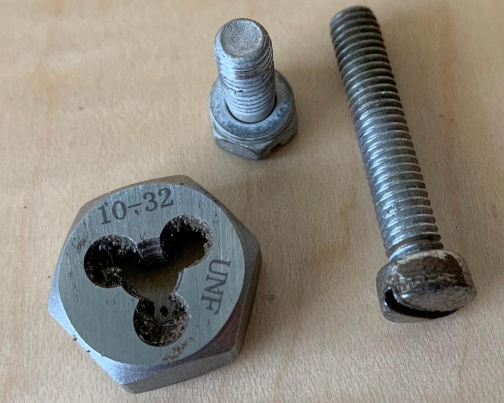 10-32 drum mounting screws