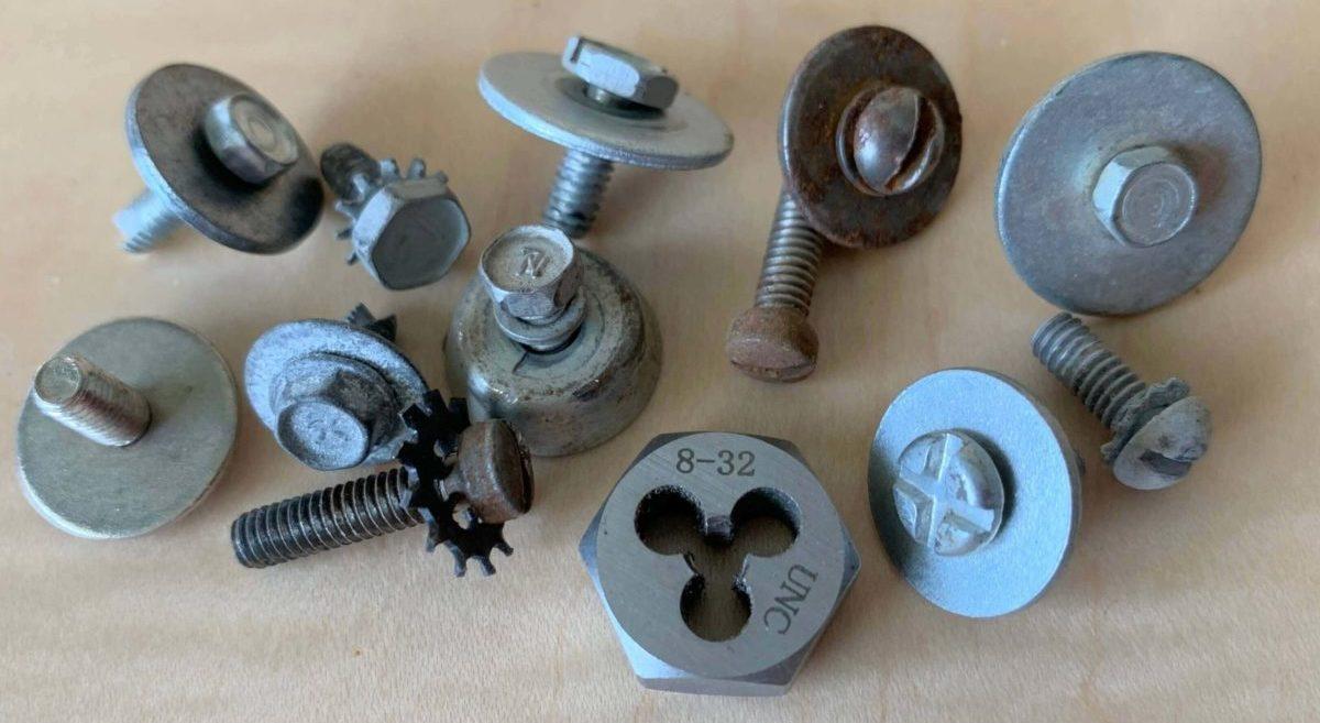 8-32 drum mounting screws