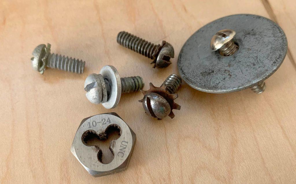 10-24 drum mounting screws