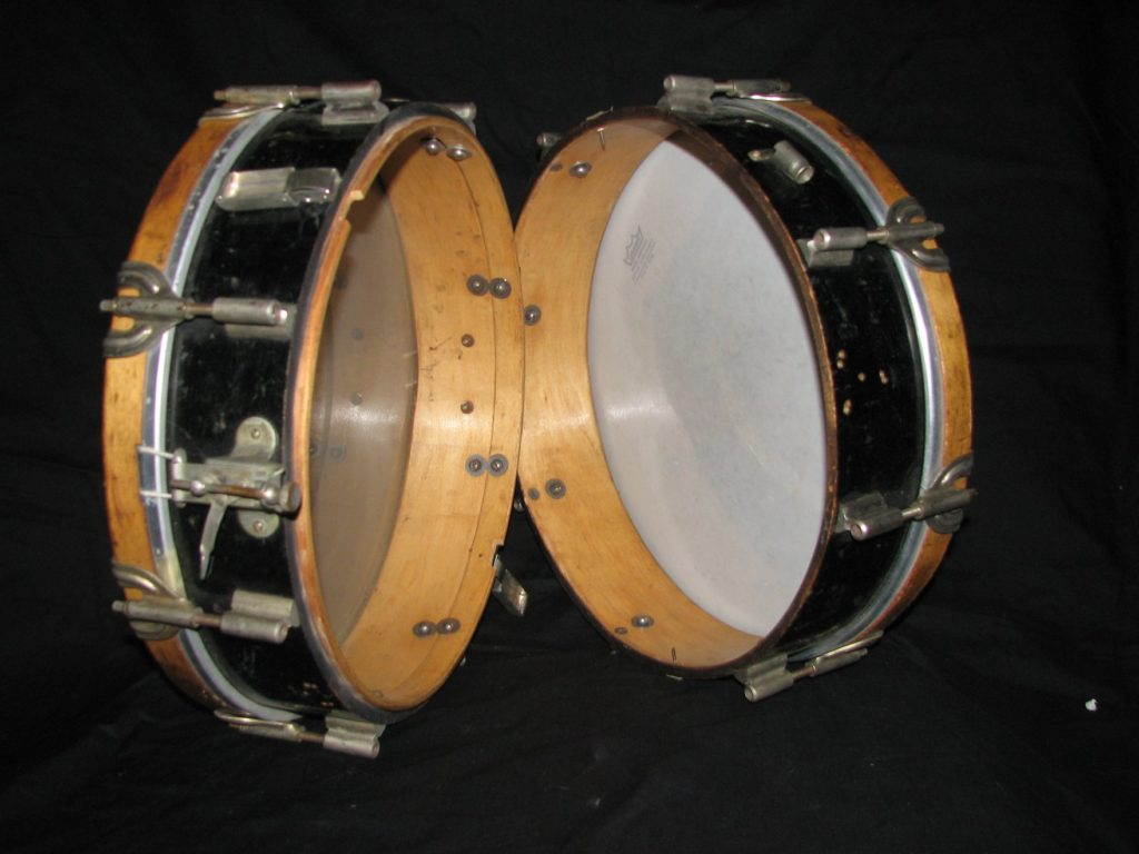 Unknown hinged snare drum